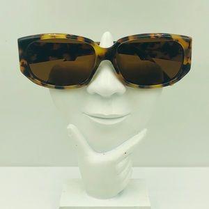Oscar de la renta Tortoise Oval Sunglasses Frame